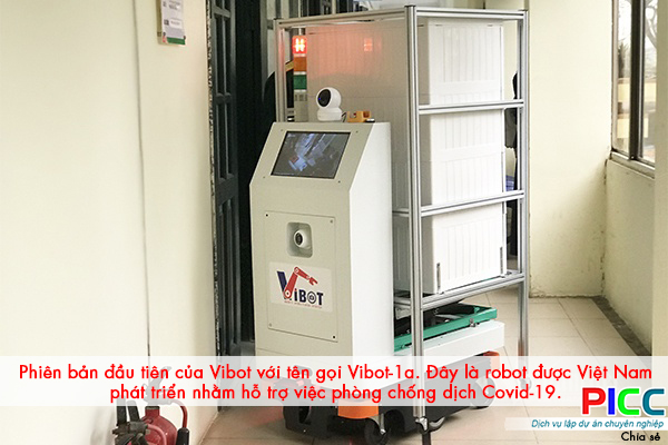 Việt Nam lên phương án sản xuất robot chống Covid-19 số lượng lớn