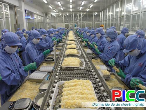 Xây dựng Khu chế biến nông sản theo tiêu chuẩn EU
