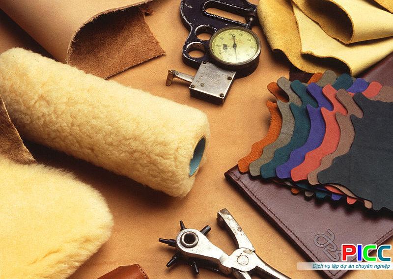 Xây dựng mới và đầu tư thiết bị sản xuất thuộc da tại TPHCM