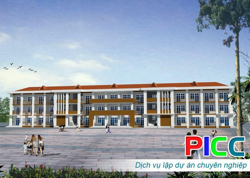 Xây dựng Trường Tiểu học - THCS - THPT